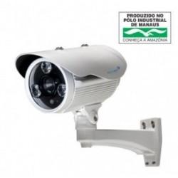 Câmera IP 1 Megapixel 1280X720P Lente 16mm Infrared 75 metros
