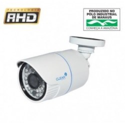 Câmera AHD 1 Megapixel 1/4´´ Infrared 36 metros