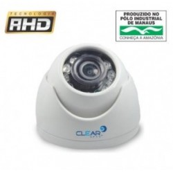 Câmera Dome AHD 1 Megapixel 1/4´´ Infrared 15 metros