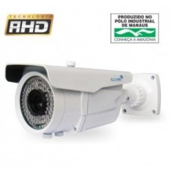 Câmera AHD 1 Megapixel Infrared 45 metros Lente Varifocal 2.8~12mm