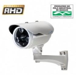 Câmera AHD 1 Megapixel (1280X720P) 1/4´´ Infrared 75 metros Lente 16mm 3DNR