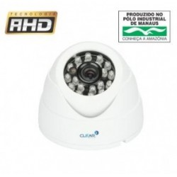 Câmera AHD Dome 2 Megapixel Infrared 25 metros