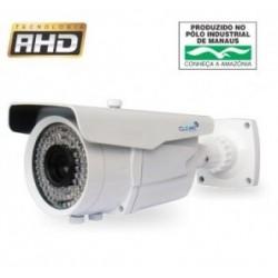 Câmera AHD 2 Megapixel Infrared 45 metros Lente varifocal 2.8~12mm