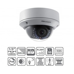Câmera IP IR Dome Varifocal 2 MegaPixel - DS-2CD2720F-IS
